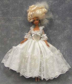 OOAK Beautiful Barbie Doll MARIE ANTOINETTE in Handmade Outfit