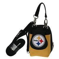 PITTSBURGH STEELERS Ladies PURSE CELL PHONE CAMERA IPOD HOLDER NEW