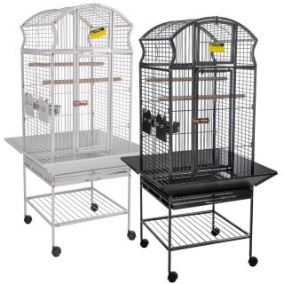 Bird Parrot Pet Cage Cockatiel Macaws Conures Aviary Flight Finch
