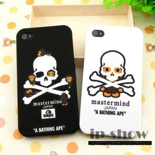 Ape BAPE X mastermind JAPAN For iPhone 4 4G 4S 4GS Cover Case