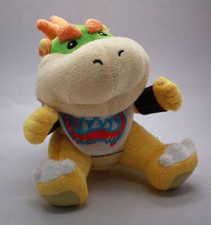 Super Mario Figure 7 Bowser Jr. Cute Stuffed Plush Doll Toy