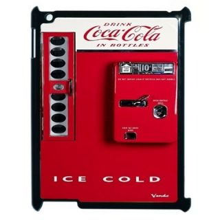 New Vintage Red Antique Soda Ice Cold Vending Machine iPad 2 Hard Case