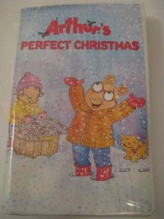 ARTHURs PERFECT CHRISTMAS Animtaed Holiday Special VHS Video