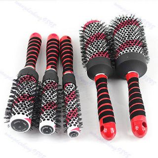 Professional Ceramic Curling Hair Round Brush Blowdrying For Salon Set