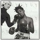 COOL RARE   Andy Warhol Jean Michel Basquiat   60s Photo Picture Print