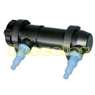 Aquarium Pond Tank Fish Tank Sterilizer UV Lamp Light Clarifier 220