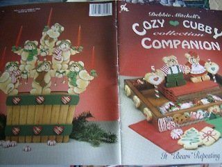 Cozy Cubby Collection Companion Painting Book  Debbie Mitchell, Teddy