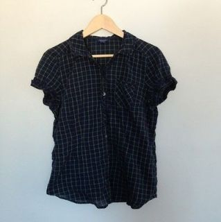 Newly listed American Eagle Womens Short Sleeve Button Down Plaid