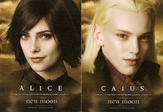NEW MOON Series 2 ALICE CULLEN Ashley Greene Autograph Trading Card