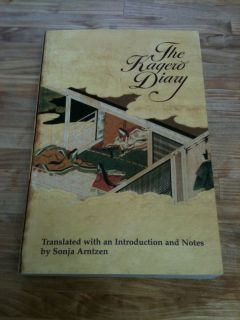 The Kagero Diary Sonja Arntzen PB Japanese Studies University of