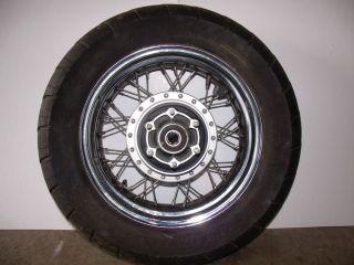 2007 Kawasaki VN900B Vulcan Classic Rear Wheel Rim Tire