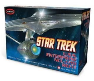 Polar Lights Model Kit 820 STAR TREK USS ENTERPRISE NCC 1701A 11000