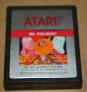 VINTAGE ATARI MS. PAC MAN GAME CARTRIDGE PROGRAM 2675 FOR 2600
