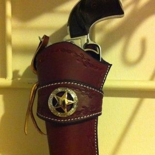 Newly listed Western Leather Gun Holster Single Actuon Cowboy Action