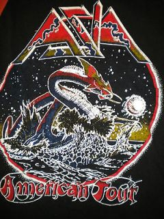 Vintage Original 1980s Asia American Tour Raglan Jersey Shirt 80s