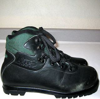 ASOLO Womens BACK COUNTRY Leather NNN BC Cross XC Snow SKIING Ski