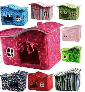 Lovely warm Indoor Small Dog Cat Puppy Bed House Kennel 50*36*40cm