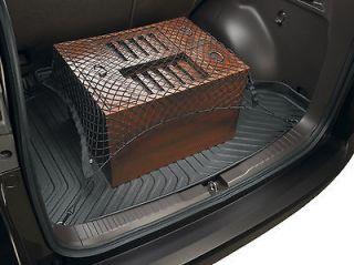 HONDA CRV CR V REAR TRUNK BLACK ELASTIC MESH CARGO NET 4 HOOK NEW