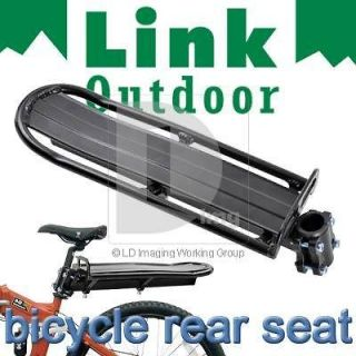 Mountain Bike/Bicycle Black Rear Carrier Rack Seat Post