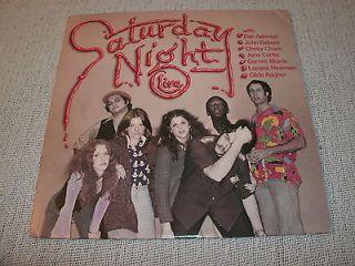 NIGHT LIVE 12 Vinyl LP/Record  Belushi, Aykroyd, Pryor, Paul Simon