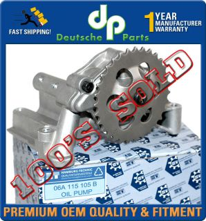 ENGINE OIL PUMP AUDI TT A4 VW BEETLE JETTA GOLF PASSAT