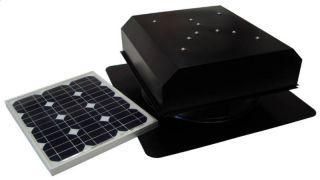 Solar Powered Attic Fan, AB 202D Attic Breeze, 20 Watt