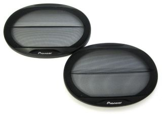 Pioneer TS G6943R 6x6 Inch Car Audio Speaker Grills Covers (not