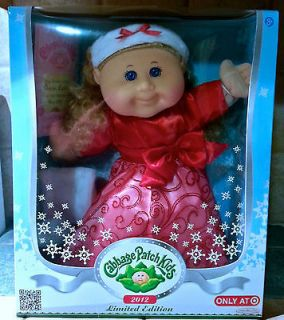 Cabbage Patch Kids Doll Holiday Limited Edition Aspen Leah May 20th