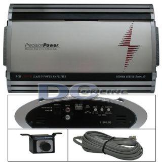 PRECISION POWER PPI S1300.1D MONOBLOCK CAR AUDIO AMPLIFIER