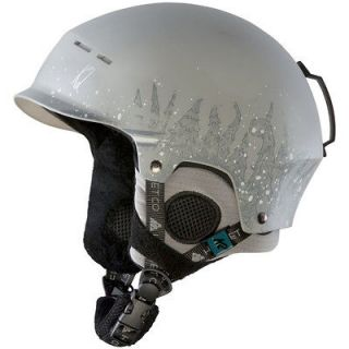 K2 Rant Pro snowboard ski Audio Helmet Grey new 2013 Small