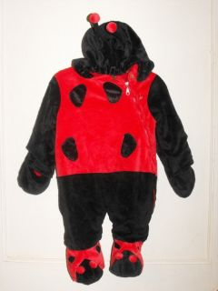 Infant Baby LADY BUG HALLOWEEN Costume Size 9 12 Months
