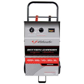 ELECTRIC TIMER WHEELED BATTERY CHARGER CAR JUMP STARTER TESTER NEW