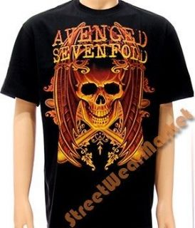 Avenged sevenfold A7X Rider Rock Men Band T shirt Sz XL