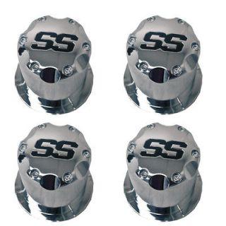 Chrome Center Caps for Golf Carts, Fits Club Car, EZGO Cart Wheels