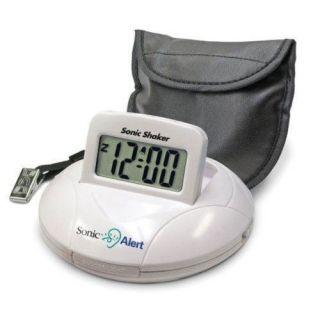 Sonic Alert SBP100 Loud Boom Alarm Clock & Bed Shaker