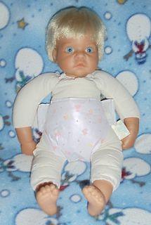 1998 Lee Middleton Original Boy Baby Doll By Reva