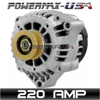 HIGH OUTPUT 220AMP ALTERNATOR BLAZER S10 JIMMY SONOMA BRAVADA 4.3L V6
