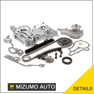Toyota Pickup Celica 2.4L 22R SOHC Timing Chain Cover Kit Water Pump