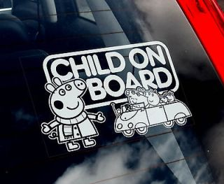 baby on board sticker car