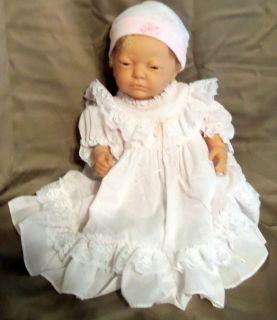 Newborn Baby Doll Girl Berjusa Rooted Hair Anatomically Correct 20