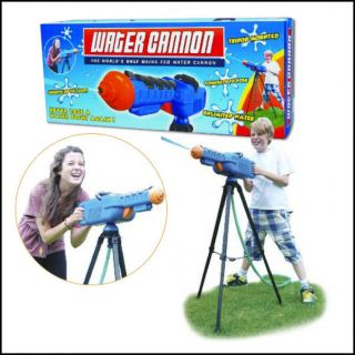 ULTIMATE WATER GUN CANNON SHOOT 100FT CONNECT TO GARDEN HOSE NEW