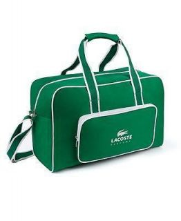 LACOSTE PARFUMS MENS WEEKENDER DUFFLE EVENING GYM TRAVEL BAG  SOLD