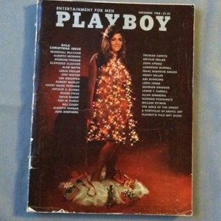 Playboy December 1968 Cynthia Myers