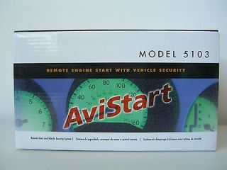 AVITAL AviStart Model 5103L Remote Engine Start With Vehicle Security