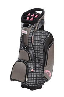 New Sun Mountain 2013 Ladies Diva Cart Bag (Storm Plaid)