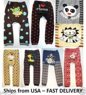 Pick Busha Baby Toddler Pants Cute Animal Boy Girl Leggings Tights
