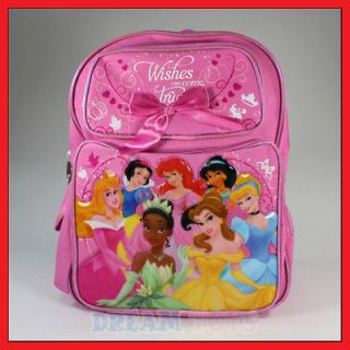 14 Disney Princesses Wishes Backpack Girls Bag Toddler