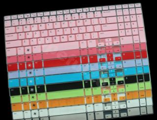 Backlit Keyboard Protector Cover Skin for Dell Inspiron 15R N5110