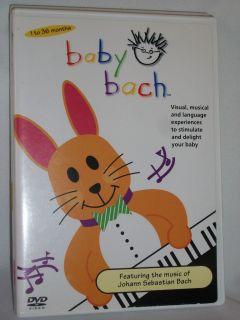DVD Baby Einstein BABY BACH Music Johann Sebastian Visual Musical