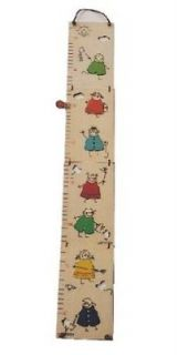 NEW KIDS FOLDABLE WOODEN HEIGHT & GROWTH CHART